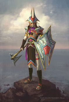 Kelari Warrior Male from Rift