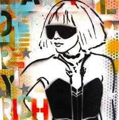 Beautiful Dirty Rich Lady GaGa... Original by thefactory101