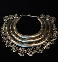 Contemporary necklace from the Miao people of China and the Golden Triangle