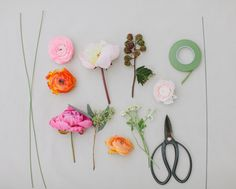 DIY Florals with JM Flora  Floral Headbands and wrist corsage maybe fun for the younger guests...