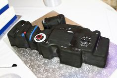 Our video camera groom's cake