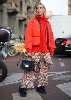 Street Style - Puffer Coats