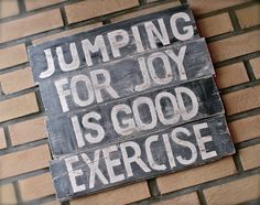 NydeligFlott: Skilt - D.I.Y Jumping For Joy, Good Things, Signs, Diy, Decor, Decoration, Bricolage, Shop Signs, Do It Yourself