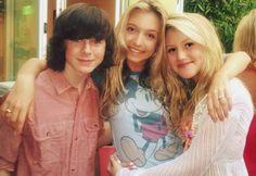 Chandler,Hana Hayes and Brooke Sorenson