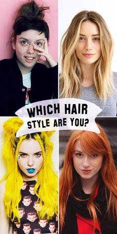 Take this fun quiz to find out what hair style fits your personality best!