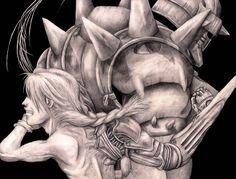 Fullmetal Alchemist pencil art by blackdragonhuntress.deviantart.com