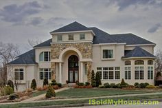 Luxury Homes Surrounded by stone walls/stone entry sited on prestigious Coachman Ridge Rd. Grand Entrance 2-story foyer, bridal staircase, decorative ceiling dome illuminated by crystal chandelier.