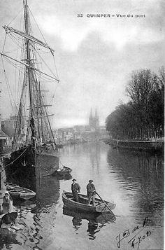 Hier et Aujourd'hui - Geneanet Quimper le port