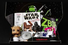 The ZBOX subscription box from Zavvi.com is a monthly pop culture subscription box. Each themed ZBOX monthly mystery box features a collection of products for fans of games, movies, cult TV, comic books and purveyors of all things popular culture, including Pop Vinyl, Funko, Star Wars, Marvel and more!