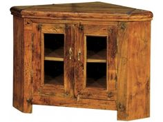 Granary Corner TV Cabinet AB120 - Distressed rustic finish £403.54