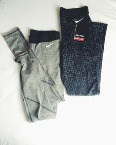 Nike workout leggings / workout outfit / exercise fashion / leggings