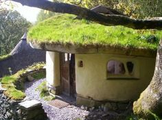 cob-home-living-roof Reminded me of the houses in the HInterlands. :)