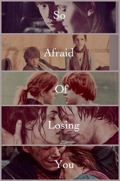 The love story of Ron and Hermione... I know that initially they are not meant to be together but I really like them together, as a couple <3