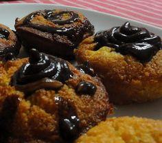 Paleo életmód: Vaníliás muffin csokiöntettel