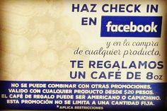 En la compra de cualquier producto y etiquetado de tu visita en #facebook recibe de regalo un #café #delichurros #pericoapa #coapa #bazarpericoapa