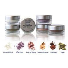 The gorgeous range of 100% Mineral, Vegan eye shadows from Larissa Bright Australia. Only $26.95 each!