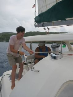 Ready on Starboard!  Sailing with SeaTrek.  http://www.seatrekbvi.com/