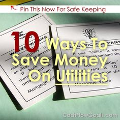Ten Simple Ways To Save Money On Utilities
