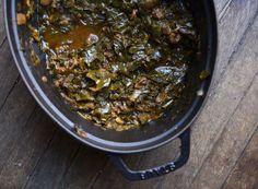 Recipe: Collard Greens Stew with Chorizo & Garlic