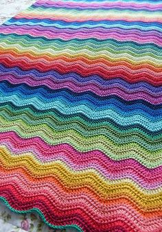 crochet blanket, love the design, match to our colour scheme