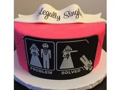 Divorce parties turn the tragic ending of a marriage into the celebration of a new beginning. These outrageous divorce cakes add levity.