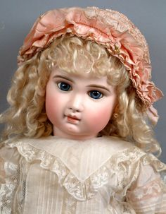 """Rarest 28"""" Incised Depose Jumeau Bebe All Antique With Original Shoes from kathylibratysantiques on Ruby Lane"""