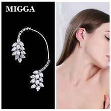 Get The Latest Fashion Jewelry  MIGGA 1PC Water Drop Shape CZ Stone Zircon Crystal Full Ear Jacket Long Piercing Women Clip Earring Cuff     Buy Jewelry At Wholesale Prices!     FREE Shipping Worldwide     Get it here ---> http://jewelry-steals.com/products/migga-1pc-water-drop-shape-cz-stone-zircon-crystal-full-ear-jacket-long-piercing-women-clip-earring-cuff/    #earrings