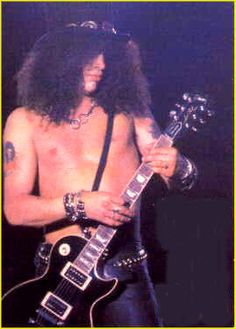 I love Slash - hands down, one of the best guitar players, EVER!