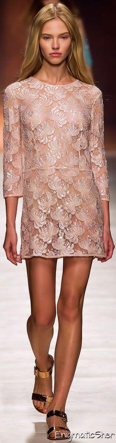Blumarine Spring Summer 2015 Ready-To-Wear dress/color