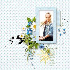 Sunshine by Jasmin-Olya Designs Beautiful summer by Jasmin-Olya Designs Happy Birthday my friend Karina ♥ Happy Birthday My Friend, Absolutely Gorgeous, Beautiful, Poppies, Sunshine, Frame, Scrapbooking, Design, Art