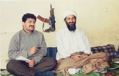 Journalist Hamid Mir interviewing al-Qaeda leader Osama bin Laden in 1997. Osama bin Mohammed bin Awad bin Laden (March 10, 1957 – May 2, 2011a) founder of al-Qaeda, jihadist organization responsible for September 11 attacks on United States, with numerous other mass-casualty attacks against civilian & military targets. Hamid Mir (born July 23, 1966) Pakistani journalist & editor, news anchor, terrorism expert, & security analyst who regularly participates in international conferences.
