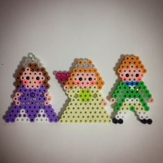 Sofia the First perler beads by ringo_0122