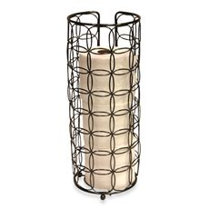 Decorative Toilet Tissue Cylinder Bed, Bath, and Beyond $14.99