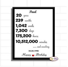 Made with love card mason jar printable cards editable card diy personalised 20th birthday sign printable 20 years 20th anniversary gift 20 years of wajeb Images