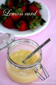 Pullahiiren leivontanurkka: Lemon curd - Sitruunatahna