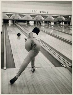 Vintage bowling 1960s'