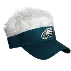 76778c046e2 Philadelphia Eagles Flair Hair Visor  FlairHair  NFL  Sports
