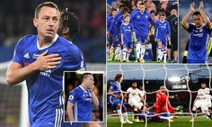 Chelsea captain John Terry has a mixed night | Daily Mail Online