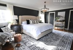 A New Rug and Artwork for Our Master Bedroom - Dear Lillie Studio