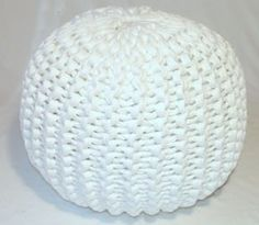 I am a crocheter, not a knitter. But I think I can do this with basic crochet pattern and really thick yarn.