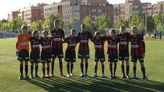 El #Brommapojkarna se enfrentó el pasado viernes 20 al #Alcobendas C.F en la Ciudad deportiva #Valdelasfuentes http://www.realsport.es