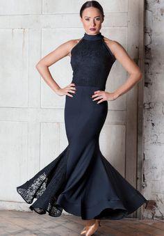 Chrisanne Clover Pearl Ballroom Dress