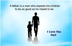 Happy Family Day Quotes For Friends With Cute Love Images And Sayings Happy Fathers Day Message, Fathers Day Poems, Fathers Day Messages, Fathers Day Images, Good Work Quotes, Happy Father Day Quotes, Wish Quotes, Dad Quotes, Love You Dad