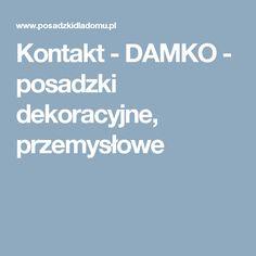 Kontakt - DAMKO - posadzki dekoracyjne, przemysłowe