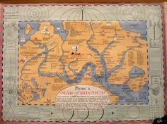 Maps: Central Scientific's 1939 Map of Physics