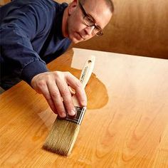 34 tips for glass-smooth perfection Finishing a Table Top