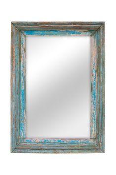 Espejo extra grande. Fabricado en madera mazica con un acabado policromado en azul, rosa y marrón descascarillado. Descubre más en ConelyHome Coachella, House Ideas, Frame, Home Decor, Moldings, Rustic Mirrors, Round Mirrors, Wall Of Frames, Wooden Frames