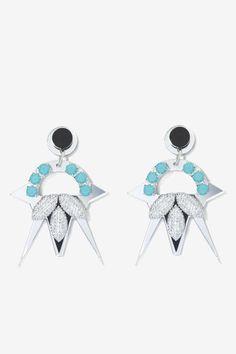 Melody Ehsani Nebula Swarovski Crystal Earrings