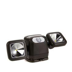 Mr. Beams Wireless LED Motion-Sensor Netbright Security Light - Brown