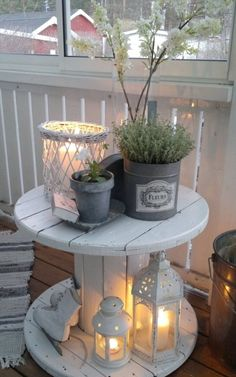 Rustic Patio, Rustic Outdoor, Outdoor Decor, Outdoor Furniture, Patio Decorating Ideas On A Budget, Porch Decorating, Decor Ideas, Patio Ideas, Yard Ideas
